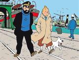 Tintin e capitan Haddock
