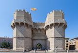Serranos Gate, Valencia, Spain
