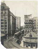 L Train in Loop, 1897. ICHi-025312