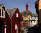 Fyrtårn-i-storm,lighthouse in storm