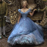 Lily James is Cinderella