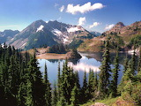 Hart Lake in the Heart of the Olympic Mountains...