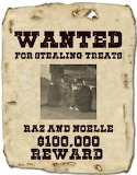 Raz and Noelle wanted poster