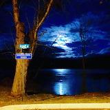 Moon over the Susquehanna