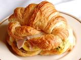 ^ Croissant Breakfast Sandwich