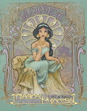 Jasmine art nouveau princess