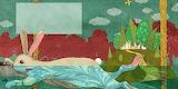 "Art tumblr ""Illustration-for-66-stories"" ""Ula Sveik"" Bunny"
