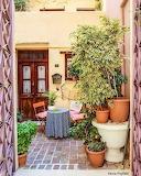 Courtyard in Chania