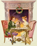 Exchanging Gifts~ Frank X. Leyendecker