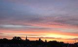 Sunrise in my town