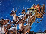 Santa is on his way