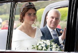 Princess Eugenie Going to the Chapel with Duke of York