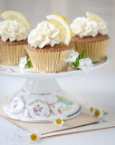 Lemon elderflower cucpcakes