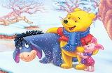Winnie the pooh-winter