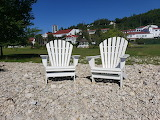 Mackinac Island Mission Point Chairs by Sarah Doorlag