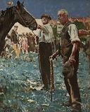 Barnet Fair, Hertfordshire, by Walter Richard Sickert (1860 - 19