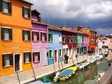 Burano-Houses-Venice-Italy