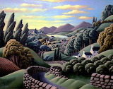Artist George Callaghan
