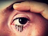 Eye hand fantasy horror