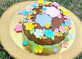 Flowery cake @ CakeSophia