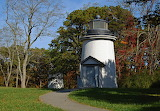 Last of the Three Sisters lighthouses in Eastham, MA