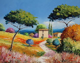 Way in Provence