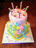 Colorful cake by Mariana Pugliese