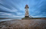 Point of Ayr Lighthouse, Wales by Pete Rowbottom