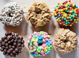 ^ Cereal topped donuts