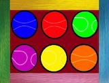 ☺ Colorful tennis balls...