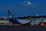 N627AS Alaska Air Cargo Boeing 737 at Anchorage