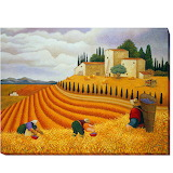 Village-Harvest-by-Lowell-Herrero-Gallery-Wrapped-Canvas-Giclee-