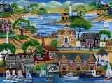 Seaside Village - Cheryl Bartley