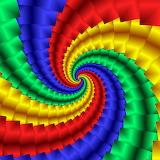 Rainbow Art @ publicdomainpictures.net...