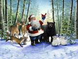 Santa and the Animals