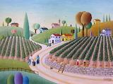 The grape harvest, Giovanni Galli