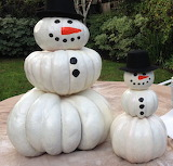 Snowmen-pumpkin-carving-halloween
