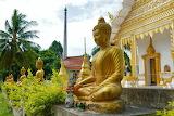 Buddhist temple-golden Buddha