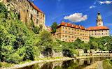 The Bear Moat of Cesky Krumlov Castle