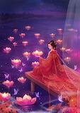 Floating Lotuses