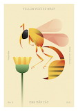"Insects tumblr lustik ""Yellow Potter Wasp"" ""Hoàng Hoàng"""