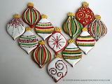 Christmas-ornament cookies