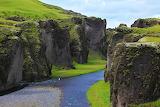 Iceland canyon Fjadrargljufur