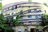 "Waldspirale ""Green"" Building, Germany ""forest spiral"""