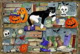 Halloween House Cat