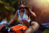 Women-brunette-ass-women-outdoors-motorcycle-sunglasses-1143008-