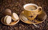 Cafe y alfajorcitos