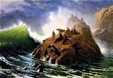 Seal Rock-Albert Bierstadt
