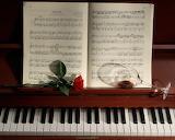 Piano y su partitura