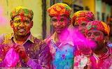 Fête des couleurs-Inde